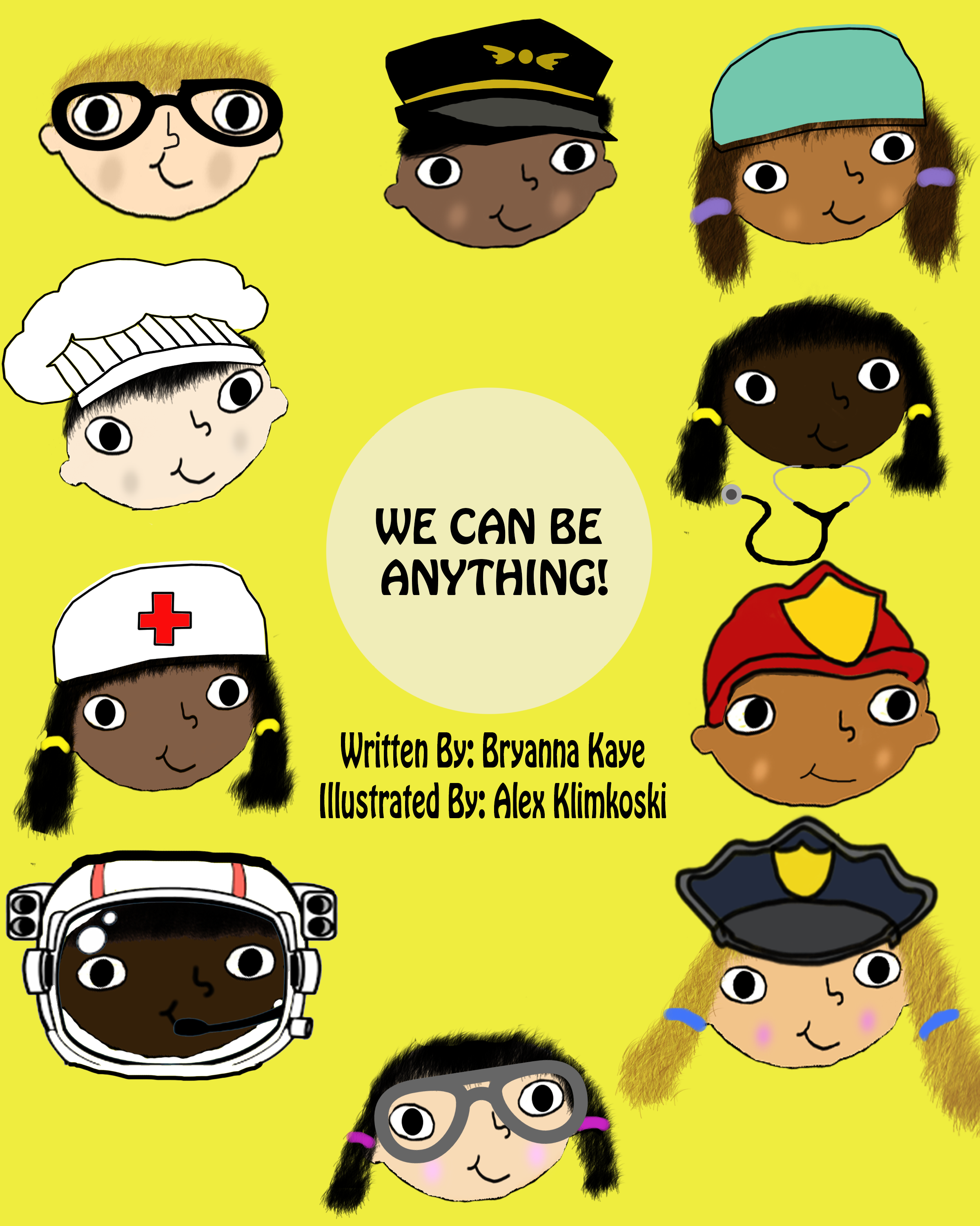 We Can Be Anything Book, Childrens Books for Multicultural Education